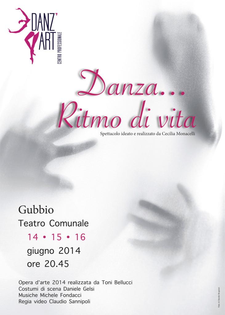 Locandina saggio Danz'ART 2014